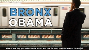 Bronx Obama Official Postcard