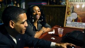 Film Still - Louis tells his story to patrons at his favorite bar.